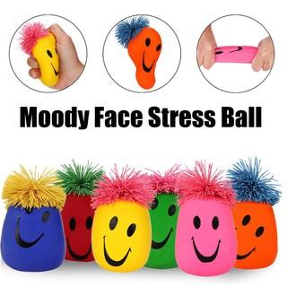Bộ đồ chơi bóp nén tạo hình mặt cười vui nhộn|Loamini565