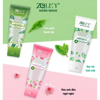 Gel rửa tay khô Zoley 100ml hoa anh đào bạc hà trà xanh thumbnail