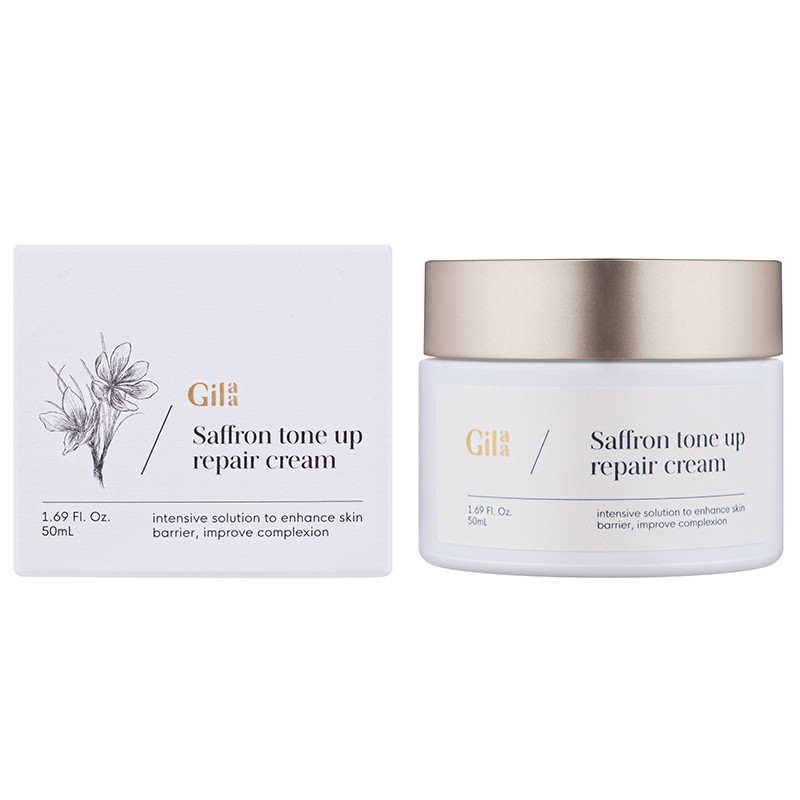 Review kem dưỡng GILAA SAFFRON TONE UP REPAIR CREAM