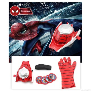Kids Avenger Alliance Gloves Wrist Launcher Toys Baby Spiderman Toys
