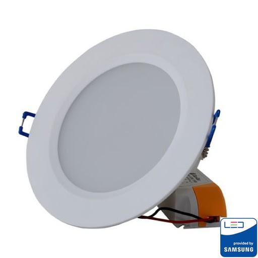 Đèn Led Âm Trần Downlight Rạng Đông D AT12L 90/7W -Trắng, Vàng LED SS