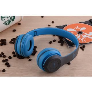 Tai nghe chụp tai Bluetooth P47 có khe thẻ nhớ - Cao cấp thumbnail