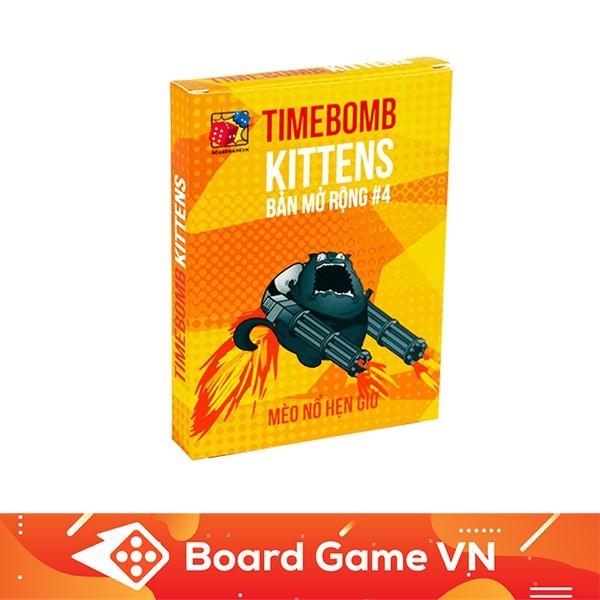 [150k Free ship] Timebomb Kittens – Mèo Nổ Bản Mở Rộng #4- BoardGameVn