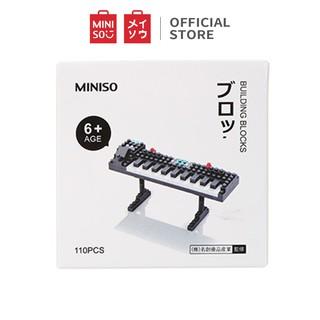 Bộ đồ chơi xếp hình Miniso (Đàn Organ)- Hàng chính hãng thumbnail