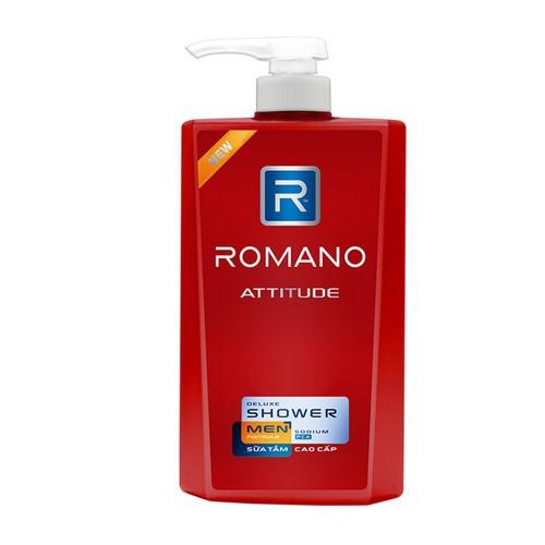 Romano sữa tắm attitude 650g