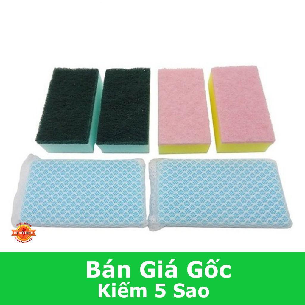 [GIÁ CỰC SỐC]  Rửa Bát Mút Trứng Cút Siêu Sạch (Màu Ngẫu Nhiên ) CDS1033