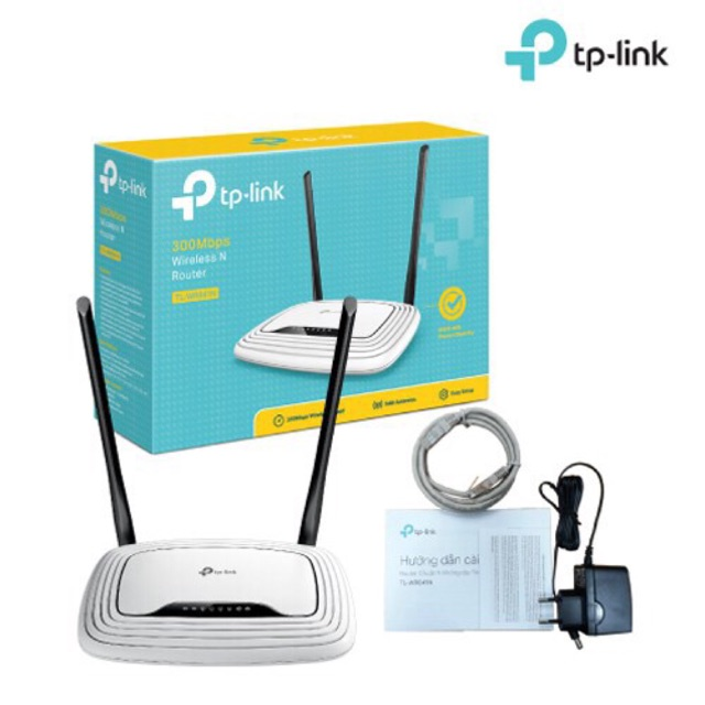 TP-Link bộ phát Wifi Chuẩn N 300Mbps cho tốc độ Download cực nhanh TL-WR841N Giá chỉ 320.000₫
