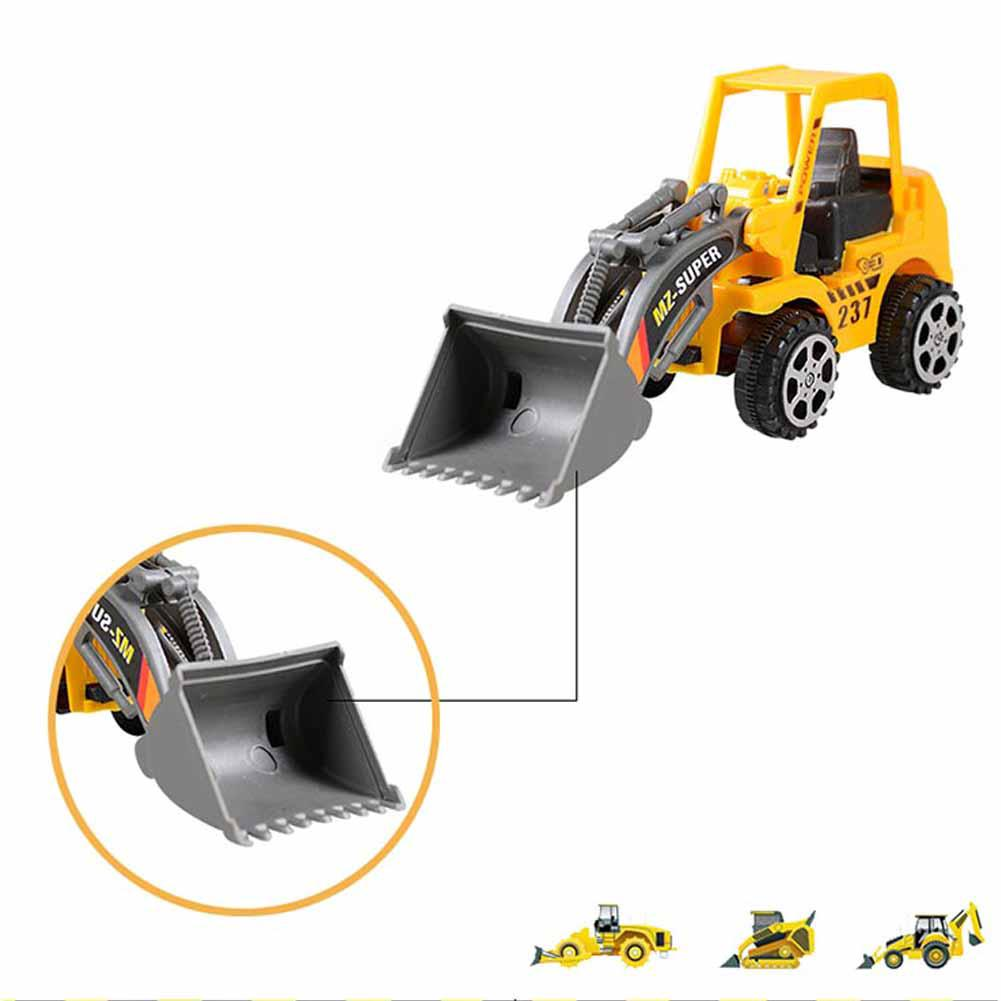 Children Toy Car Mini Engineering Vehicles Construction Friction Dump-car Dump Truck Model Classic for Baby 1