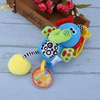 Baby ♡ Baby Kids Toys Rattles Soft Plush Toy Animal Clip Baby Hanging Toys