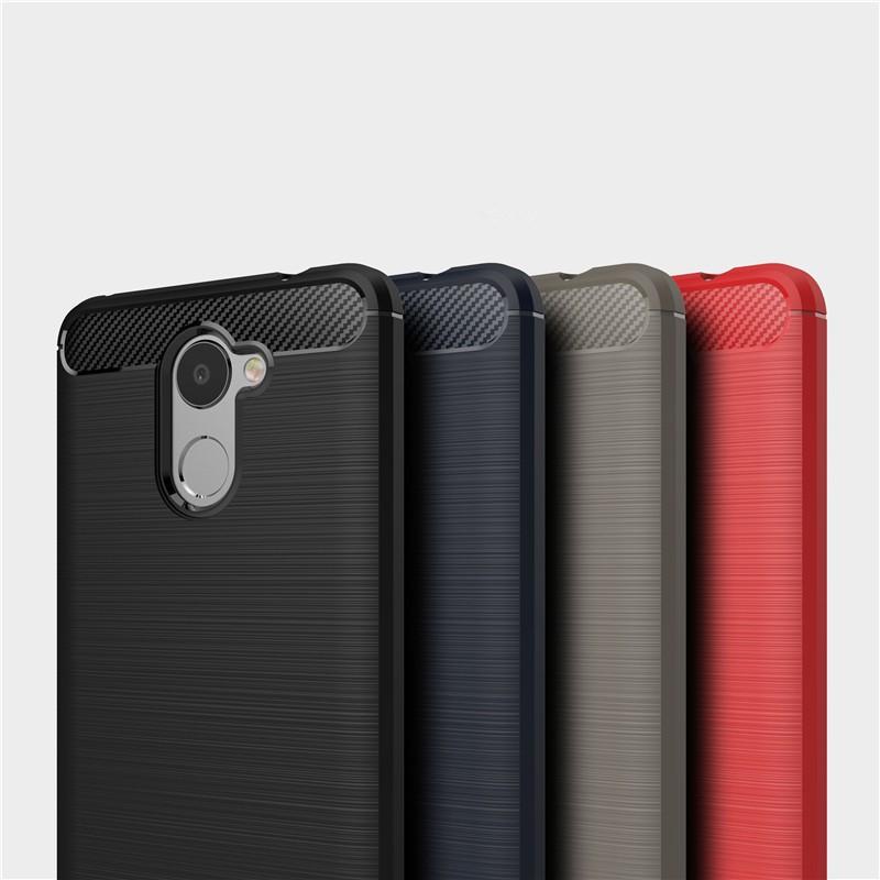 Ốp điện thoại TPU Silicon mềm sợi carbon chống sốc dành cho Huawei Enjoy 7 Plus