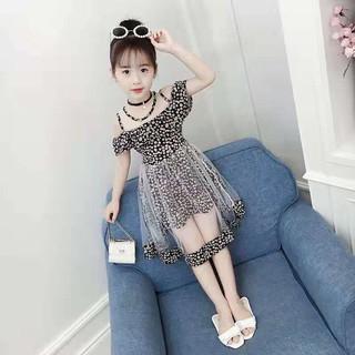 (NT013) Váy bé gái dáng xòe công chúa lung linh xinh xắn sang trọng