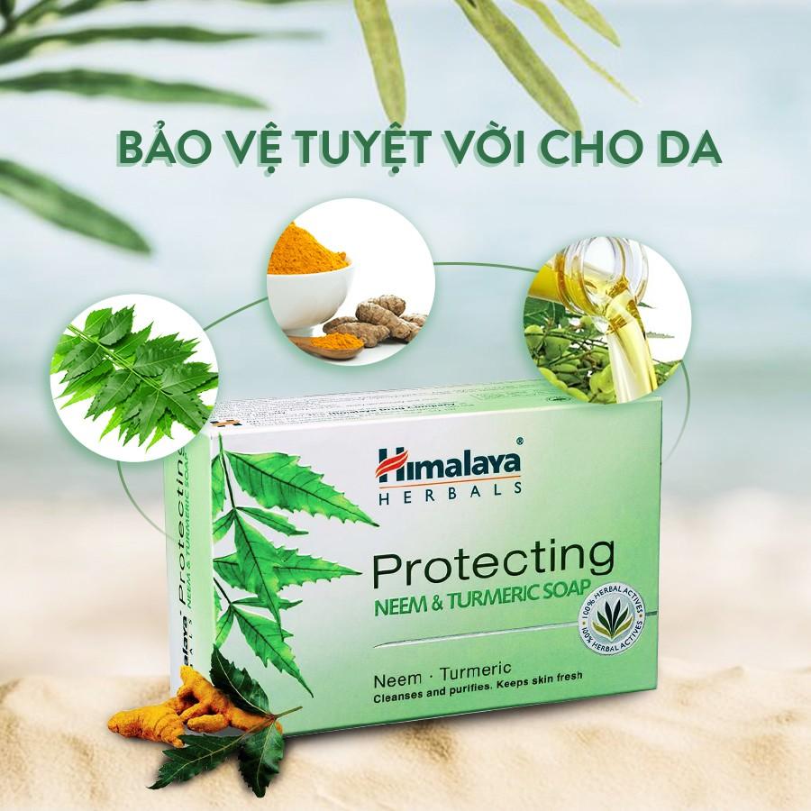 Xà phòng trị mụn lưng Himalaya Neem và nghệ tây - Soap trị mụn lưng và cơ  thể Himalaya   Shopee Việt Nam