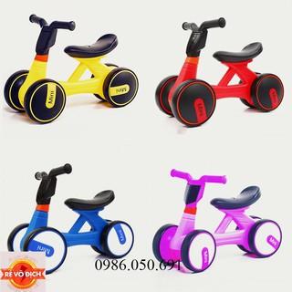 Xe Chòi Chân Thăng Bằng Mini Bike màu vàng – Xanh(Có Nhạc + Đèn)