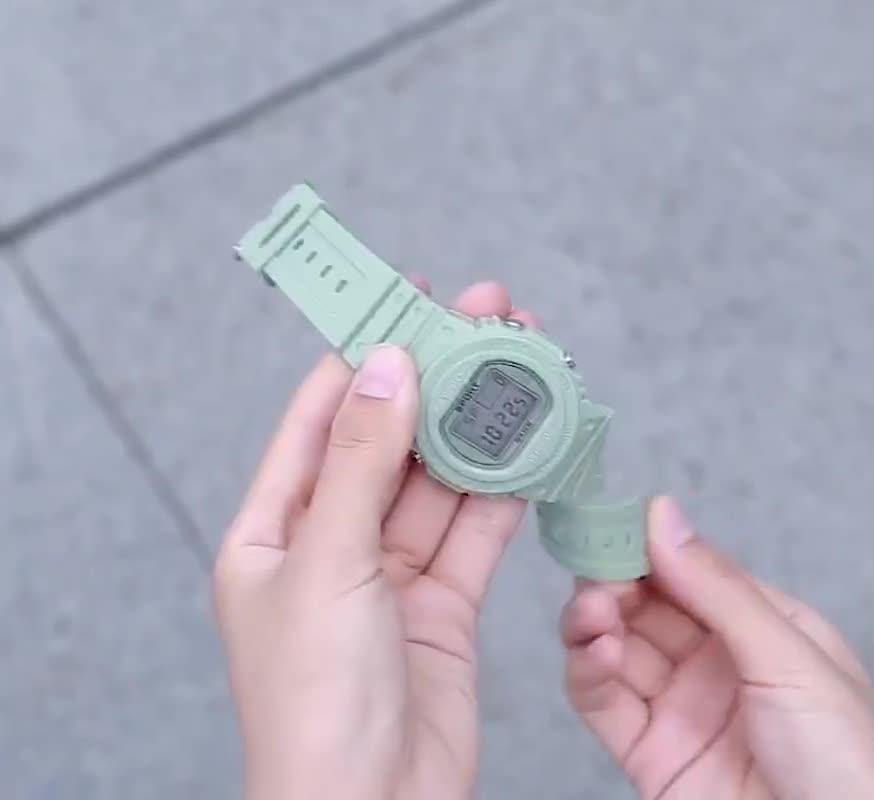 Đồng hồ điện tử nam nữ Sport Sp03 cực đẹp kiểu dáng độc đáo, mới lạ, full chức năng, dây cao su cực bền