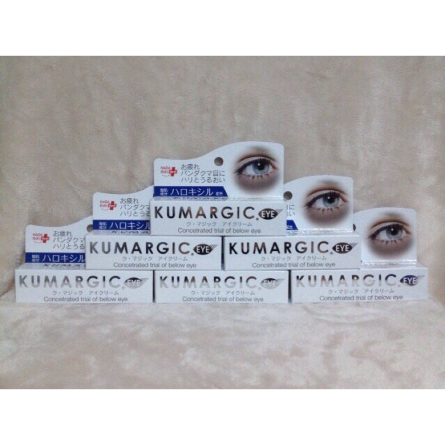 Kem trị thâm quầng và xóa tan bọng mắt Kumargic Eye cream 20g của Nhật - 2994816 , 179047083 , 322_179047083 , 240000 , Kem-tri-tham-quang-va-xoa-tan-bong-mat-Kumargic-Eye-cream-20g-cua-Nhat-322_179047083 , shopee.vn , Kem trị thâm quầng và xóa tan bọng mắt Kumargic Eye cream 20g của Nhật