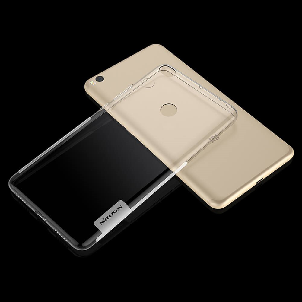 Ốp lưng Xiaomi MI MAX 2 Nillkin Dẻo trong suốt