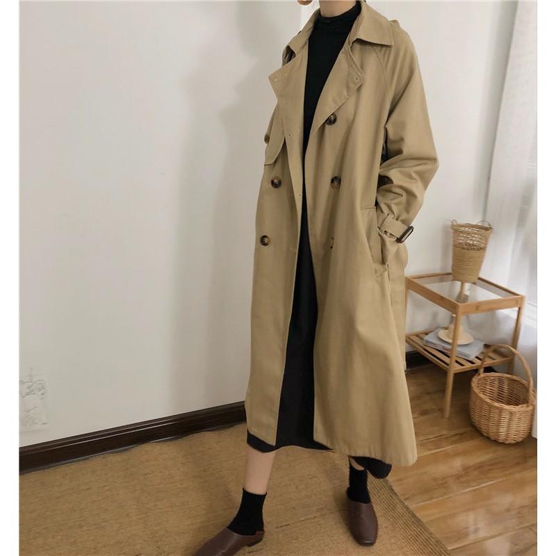 trench coat dang dai