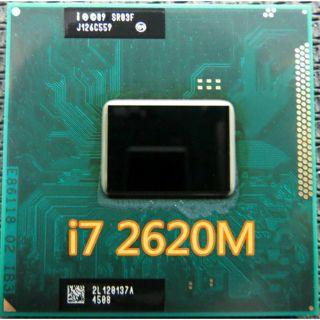 Intel Core i7-2620m (SR03F) – Intel Core i7-2640m (SR03R)