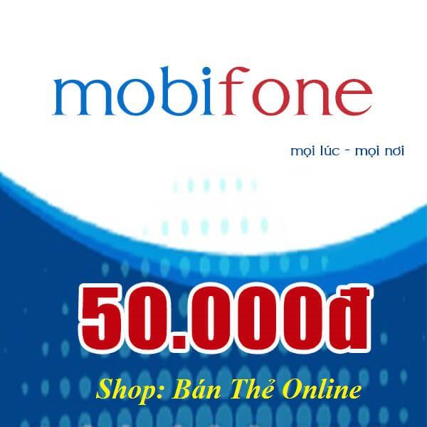 Mã thẻ Mobi 50K