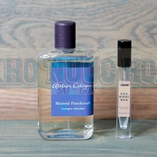 Nước hoa dùng thử Atelier Mistral Patchouli