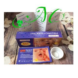Que thử thai Calt Test - Phát hiện thai sớm trong 60 giây, nhanh, tiện lợi, hiệu quả - Luôn che tên sản phẩm thumbnail