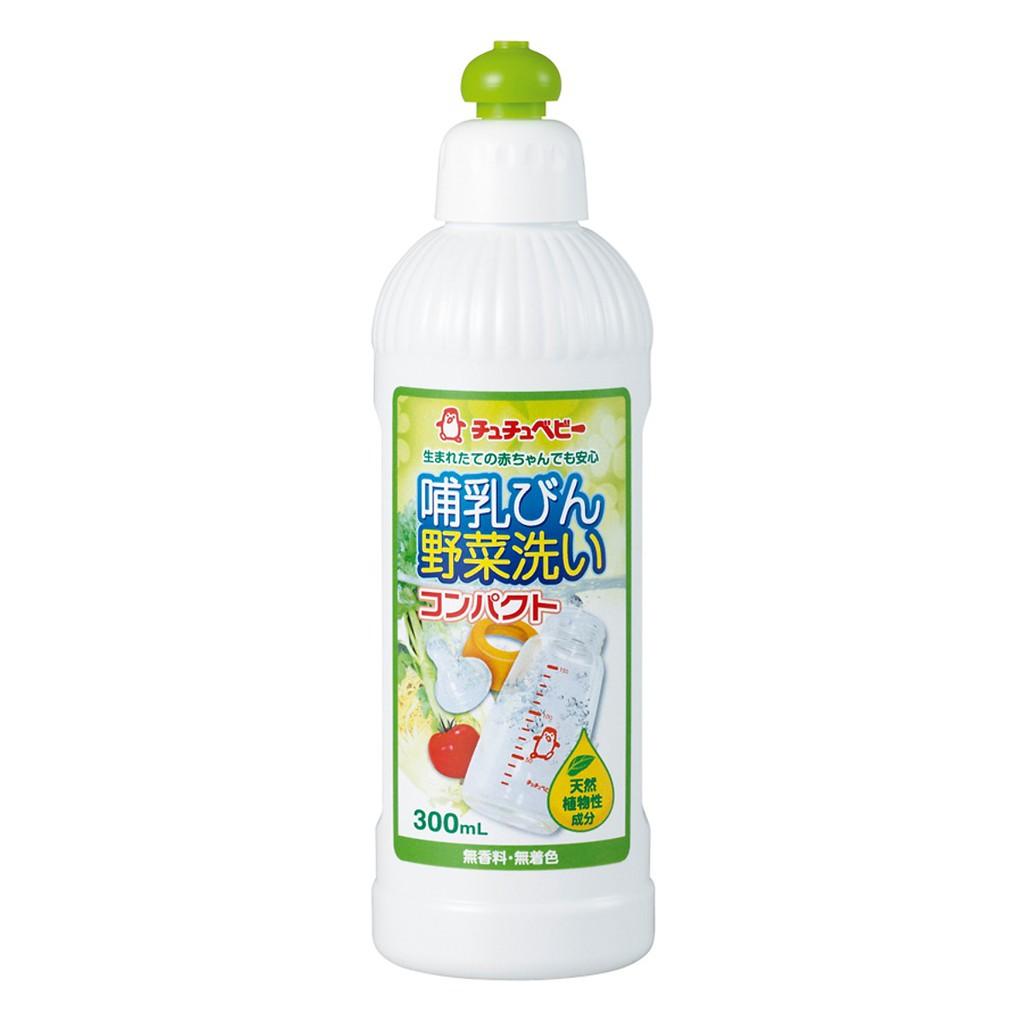 Nước rửa bình Chuchu Baby 300ml ( loại đậm đặc)