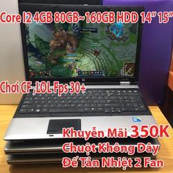 Laptop cũ Giá Rẻ Sập Sàn i2 4GB Ổ 80Gb đến 320GB Mới 85+ Trở lên – Chơi LOL,CF,Youtube…Tặng Tản Nhiệt Or Chuột BLutut Giá chỉ 1.890.000₫