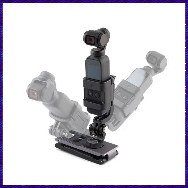 For PGYTECH DJI OMSO Pocket L Bracket Rotatable Holder Mount for OSMO POCKET for Action Camera Handle Gimbal