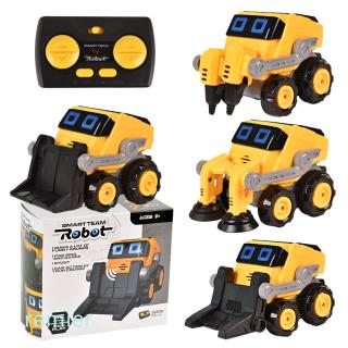 2.4Ghz RC Car Toy Remote Control Dancing Rotating Music Engineering Vehicle Stunt Car