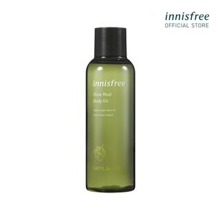 [Mã COSIF9 giảm 10% đơn 400K] Tinh dầu dưỡng thể chiết xuất từ ô liu innisfree Olive Real Body Oil 150ml thumbnail