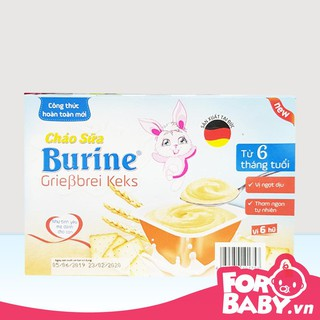 Cháo sữa Burine 1 Lốc 6 Hủ] [6x50g] 300g - date 6 2021 thumbnail