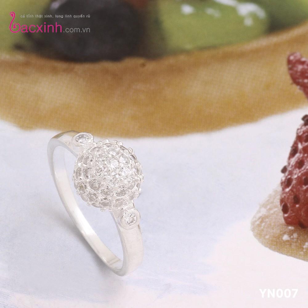 Nhẫn nữ trang sức bạc Ý S925 Bạc Xinh - Bồ công anh YN007