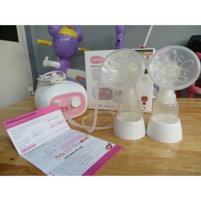 Máy hút sữa Unimom điện đôi thanh lý