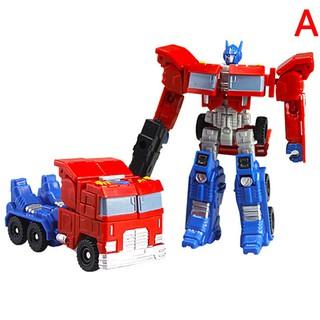pufang 1Pc Transformer Robot Cars Optimus Prime Megatron Toys Kids Racing Action Gift