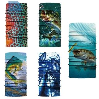 (Hàng Mới Về) Khẩu Trang In Hình Cá Biển Thoáng Khí Tiện Dụng thumbnail