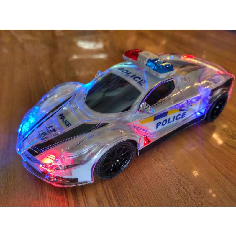 Xe cảnh sát điều khiển từ xa, đồ chơi xe điều khiển từ xa mô hình cảnh sát Police.