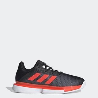 Giày adidas TENNIS sân cứng SoleMatch Bounce Nam Màu đen FU8117 thumbnail