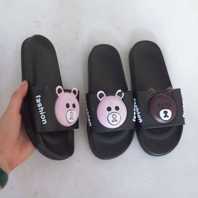 Combo 5 đôi dép gấu