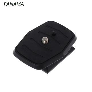 NAMA Quick Release Plate Universal QB-4W Tripod Screw Adapter For YUNTENG Velbon Sony