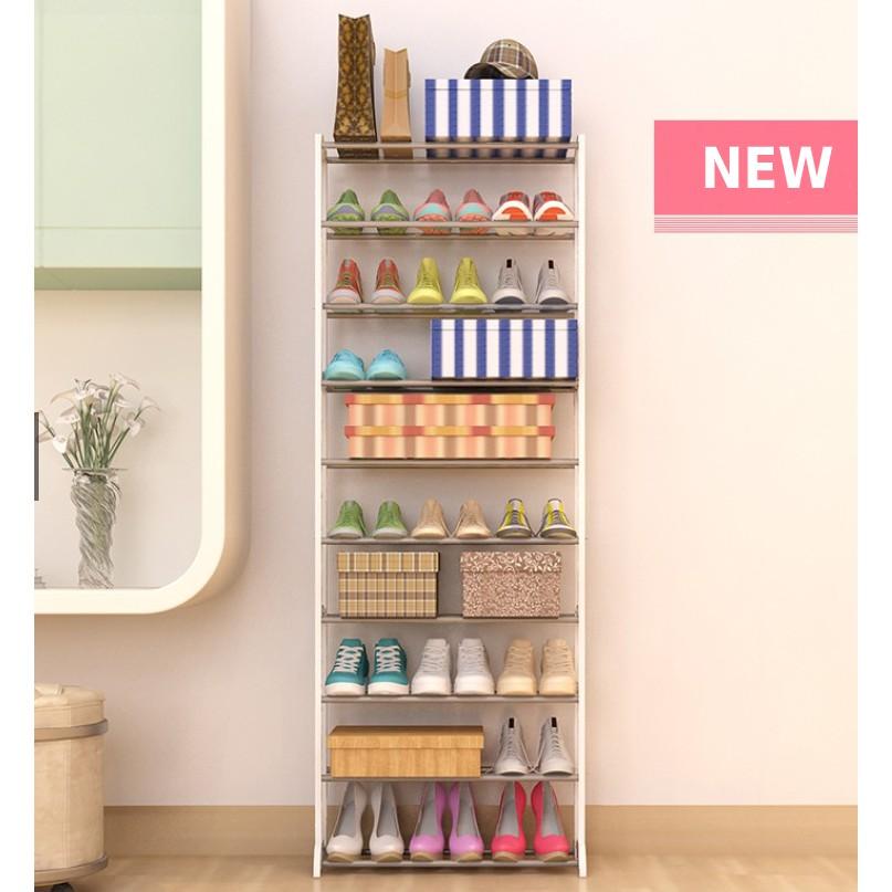 Giá để giày đơn giản 10 tầng
