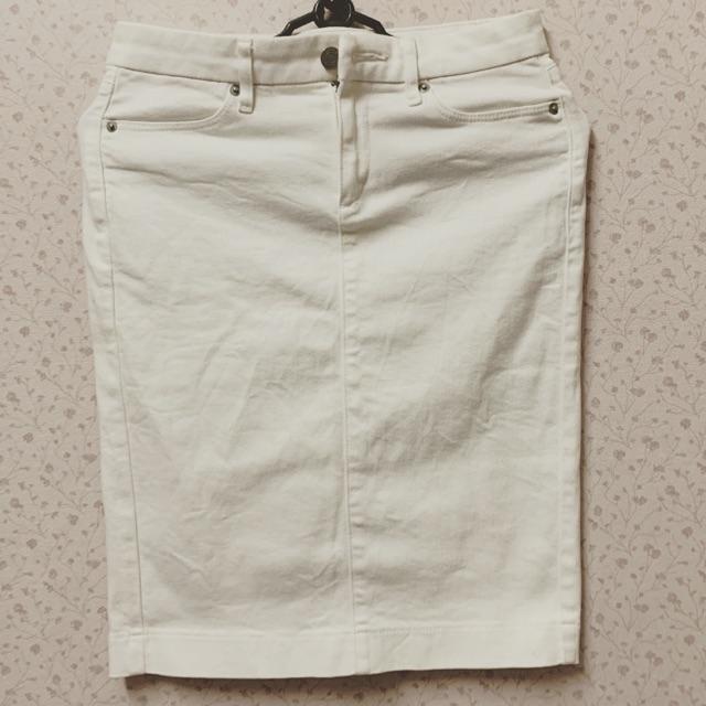 7538975225 - ✅Thanh lý chân váy Uniqlo Auth trắng chỉ 95k