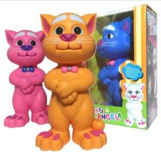 Mèo Tôm Thông Mình Nhại Tiếng-Phát Nhạc Loại Nhỏ 20cm