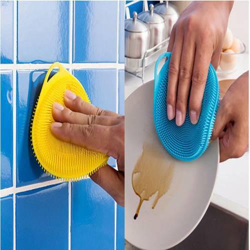 ( HOT ) Miếng rửa bát silicon NEW HOT 2018 RẺ NHẤT VN 2019