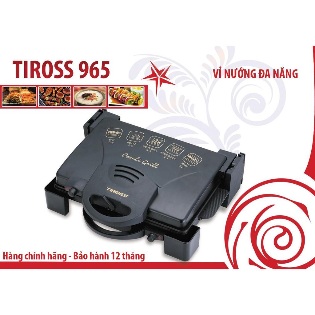 Máy kẹp bánh mỳ doner kebab Tiross TS965 bảo hành 12 tháng