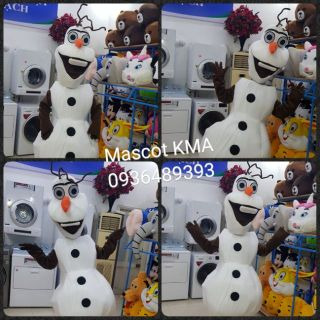 Quần áo hoá trang Mascot Người tuyết Olaf Frozen – sinh nhật, sự kiện