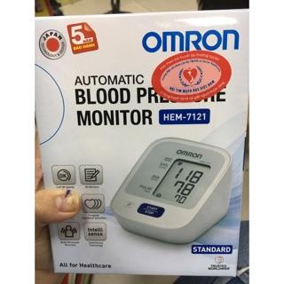 Máy đo huyết áp omron hem 7121 bảo hành 5 năm