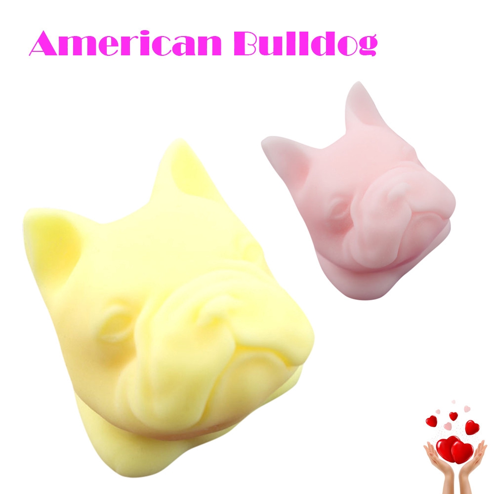 【COD】😺Mini Bulldog Squeeze Funny Toy Soft Stress And Anxiety Relief Toy