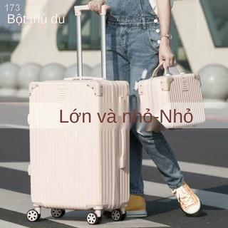 [HOT]Hành lý nữ lưới màu đỏ phiên bản Hàn Quốc của hộp mật khẩu có sức chứa lớn đựng đồ nam xe đẩy vali 24 thời trang thumbnail