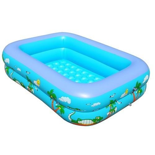Bể bơi 2 tầng hình chữ nhật 120cm