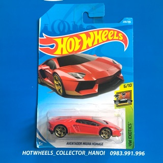 Xe Hot Wheels – Aventador Miura Homage